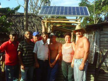 Amplían instalaciones de Proyecto Internacional de las Naciones Unidas en comunidad rural de Florida