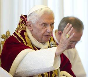Renunciará el Papa Benedicto XVI