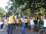 Amaneció Florida de amarillo