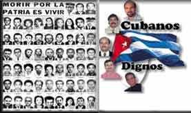 Actual jornada de solidaridad por los Cinco, honra también a las victimas del sabotaje al avión de Barbados